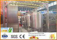 Complete Mini Craft Beer Production Line Full Automatic 0.4m3/h
