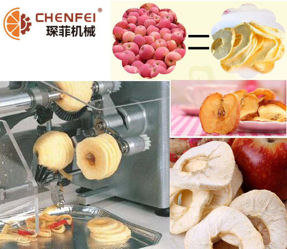 5T/H Dried Apple Production Line / Pear Juice Processing Line Energy Saving